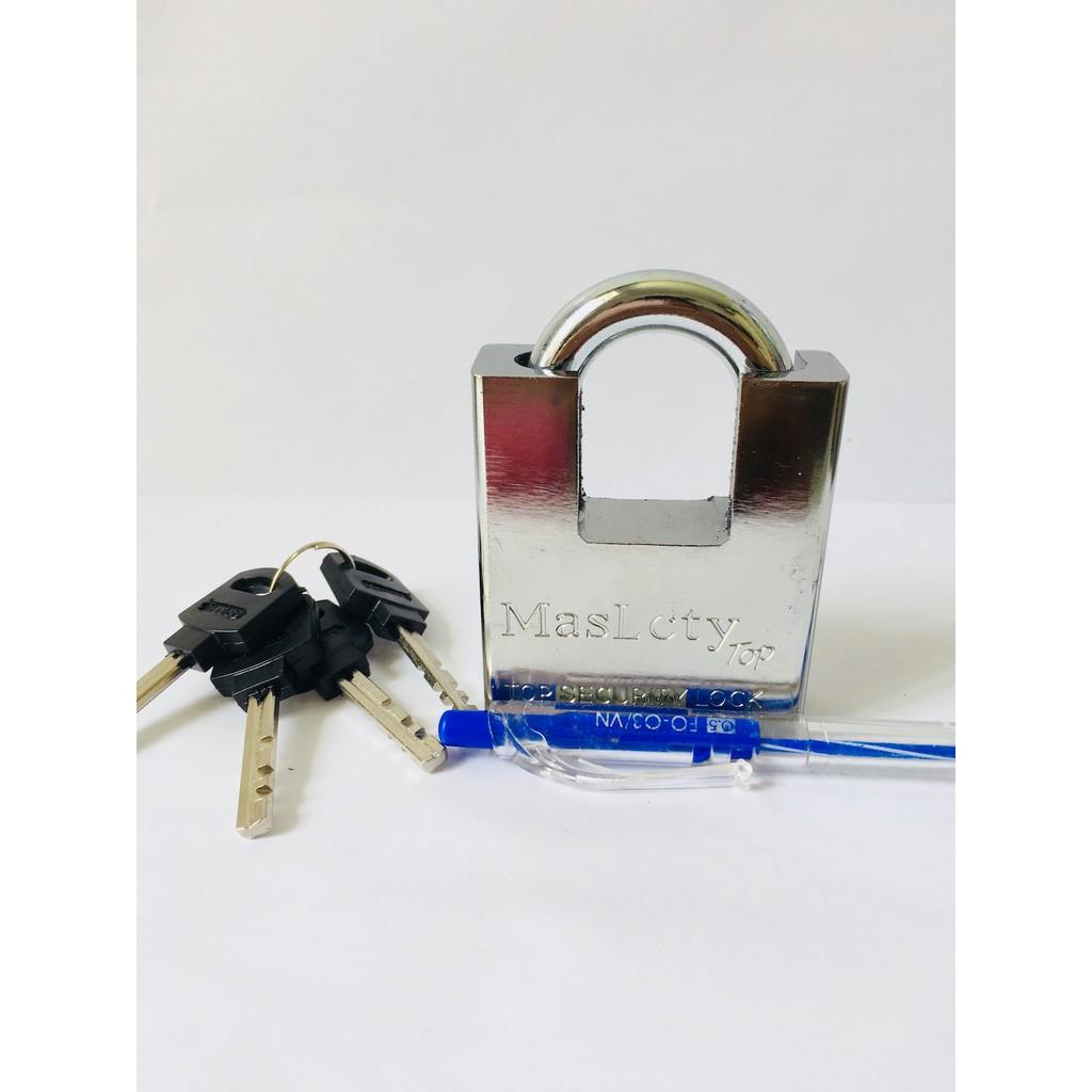[KHOÁ CHỐNG CẮT SIZE ĐẠI 60F] Bộ khoá cửa an toàn nhất- o khoa chong trom