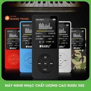 Máy nghe nhạc chất lượng cao Ruizu X02,hàng chuẩn giá đẹp (8GB tặng tai nghe hifi ) thumbnail
