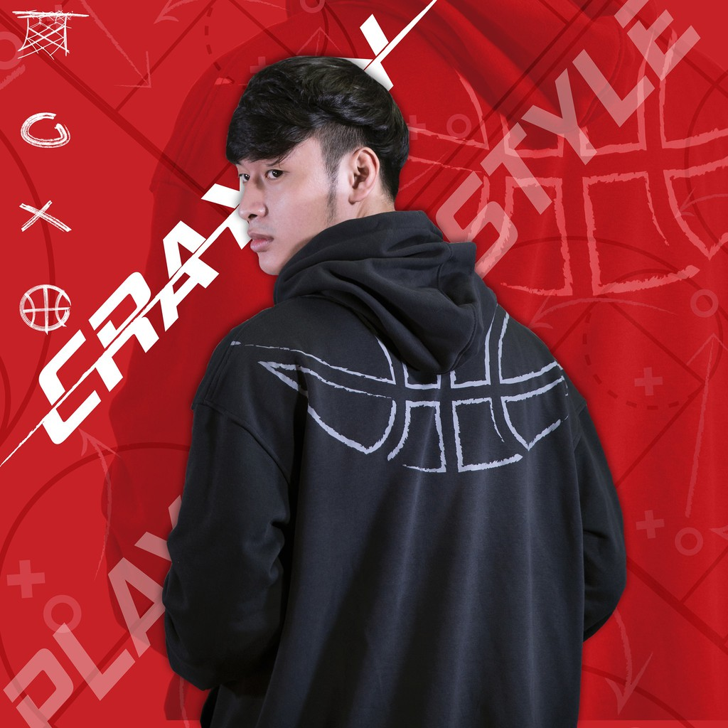 """Áo Hoodie Localbrand Form Rộng Cotton cao cấp - Crayon """"Play Your Style"""""""
