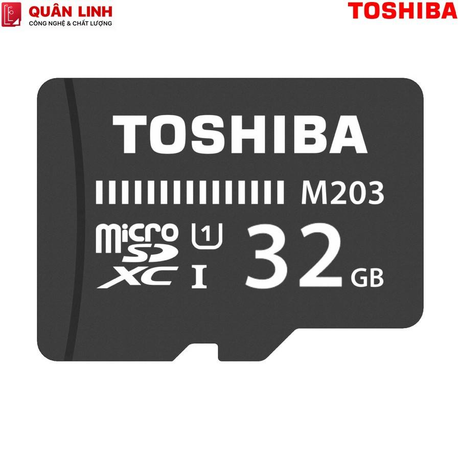 [Mã ELFLASH5 giảm 20K đơn 50K] Thẻ nhớ MicroSDHC 32GB Class 10 UHS-I 100MB/s Toshiba hàng FPT