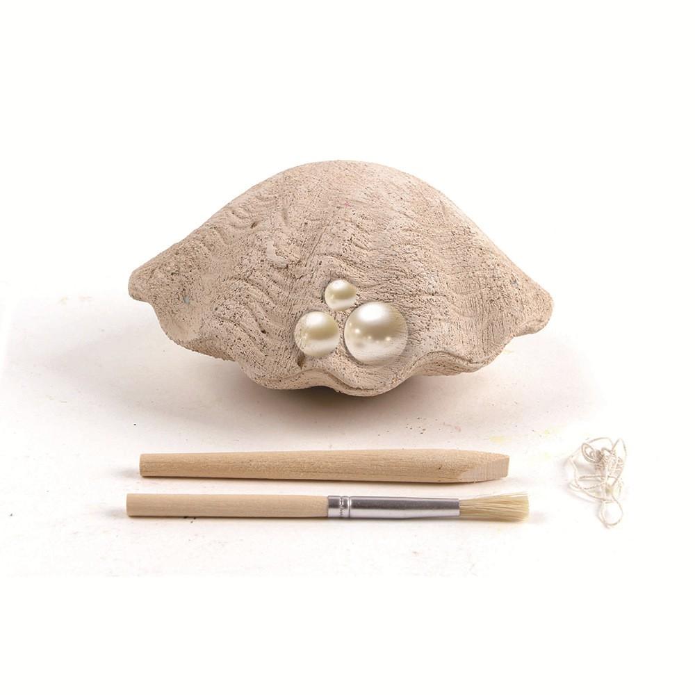 Bộ khảo cổ học cho bé DIY – Khai thác ngọc trai Pearl Diver