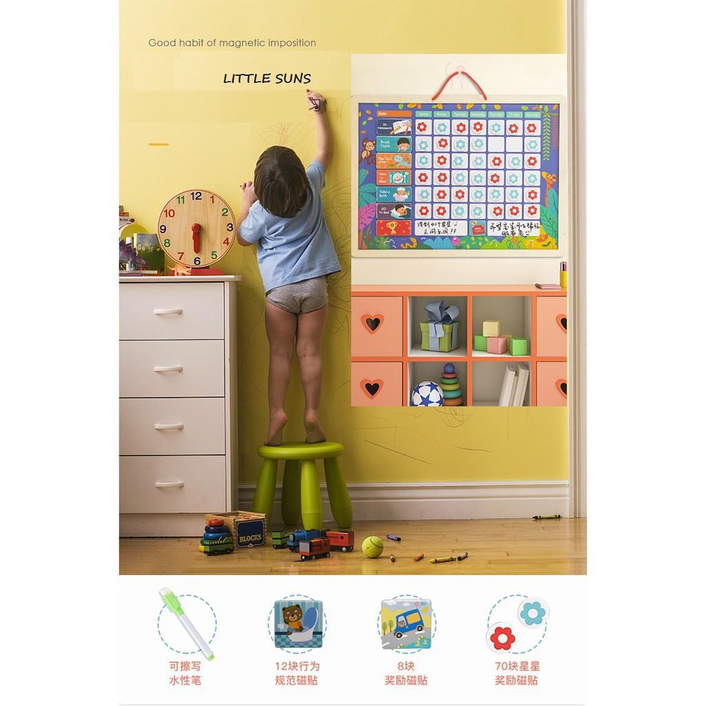 Bảng gỗ Thời khóa biểu thông minh_SmartKids