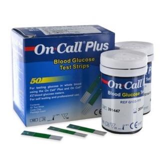 Que thử đường huyết ON CALL PLUS ( Hộp 2 lọ )
