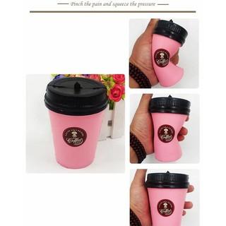 ( CAFÉ H) ĐỒ CHƠI CỐC CAFEE MÀU HỒNG -thegioidochoi127 KM-688