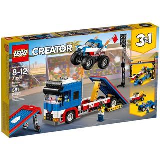 LEGO Creator 3in1 | Lego 31085 Mobile Stunt Show | Đội xe tải quái vật biểu diễn