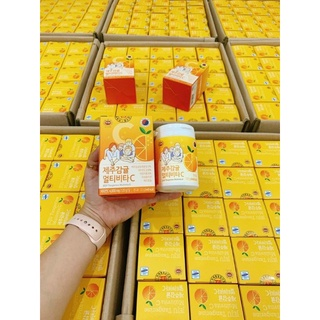 Viên ngậm Vitamin C Jeju Hàn Quốc 120g