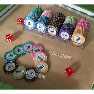 Bộ 100 Thẻ Bài Poker