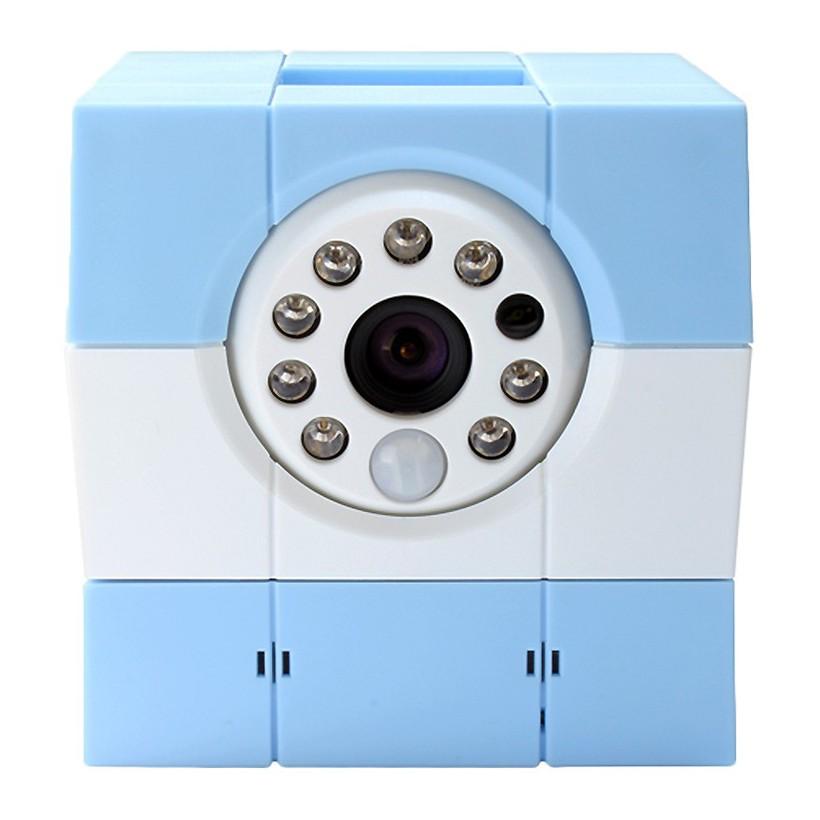 Camera IP hồng ngoại Robot thông minh iBaby Plus Amaryllo Xanh dương