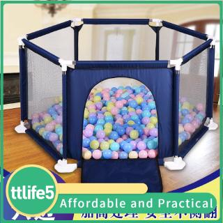【hot sale】Baby children's play fence baby crawling mat toddler fence indoor playground child safety fence home