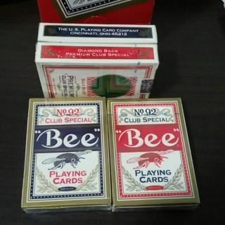 Bộ bài tây Bee Casino Premium Playing Cards [ Hàng Mỹ ]