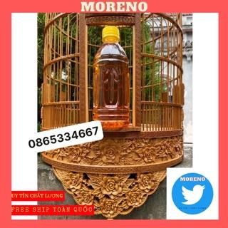 Dầu quét lồng chim MORENO lên màu sáng bóng - dầu ủ lồng chim cao cấp thumbnail