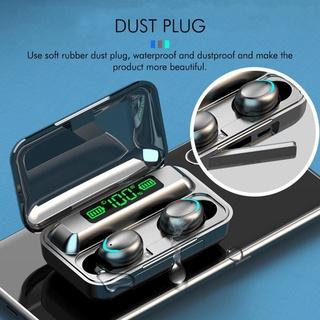 [CHÍNH HÃNG] Tai nghe Bluetooth F9 Pro V5.0 cảm biến vân tay