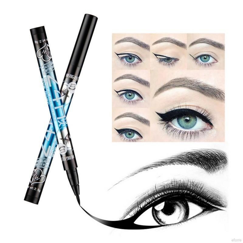 Bút kẻ mắt công thức dạng lỏng Pudaier màu đen chống nước tiện dụng cho nữ