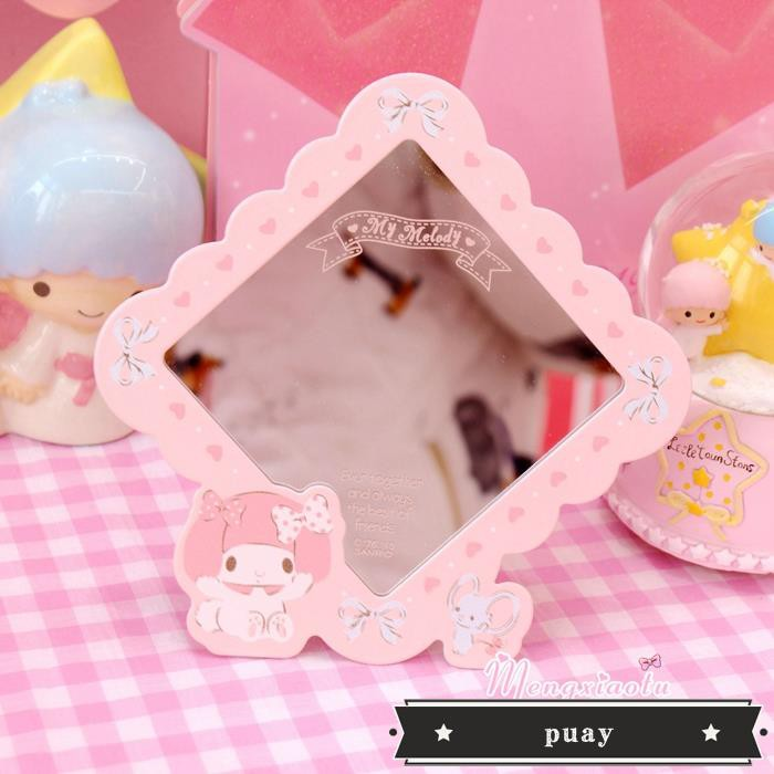 Melody Melody girl pink desktop makeup mirror powder cute ca - 14436260 , 2657897176 , 322_2657897176 , 484200 , Melody-Melody-girl-pink-desktop-makeup-mirror-powder-cute-ca-322_2657897176 , shopee.vn , Melody Melody girl pink desktop makeup mirror powder cute ca
