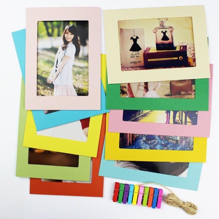 Set 10 khung ảnh giấy treo tường màu sắc - 2806805 , 436849279 , 322_436849279 , 33000 , Set-10-khung-anh-giay-treo-tuong-mau-sac-322_436849279 , shopee.vn , Set 10 khung ảnh giấy treo tường màu sắc
