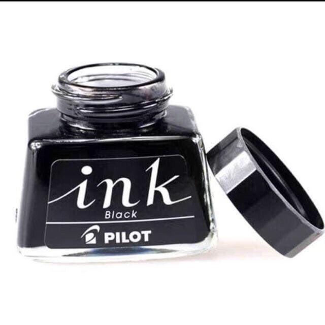 Mực Ink - Pilot 30ml Đen, Mực Luyện Chữ Đẹp