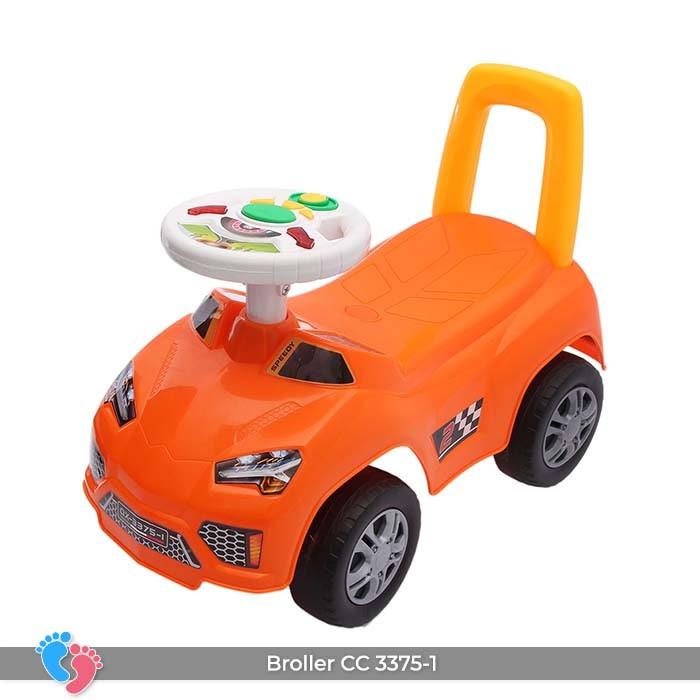 Xe ô tô chòi chân cho bé Broller CC-3375-1 có nhạc