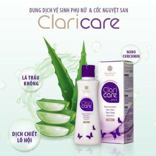 Gel vệ sinh cốc nguyệt san và vùng kín Claricare 100ml