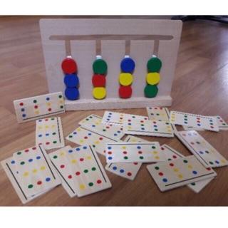 Giáo cụ Montessori – Bộ toán học tư duy logic