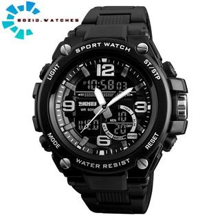 Đồng hồ nam thể thao điện tử chính hãng chạy 2 máy chống nước chịu va đập cực bền SKMEI SM22  -Gozid.watches