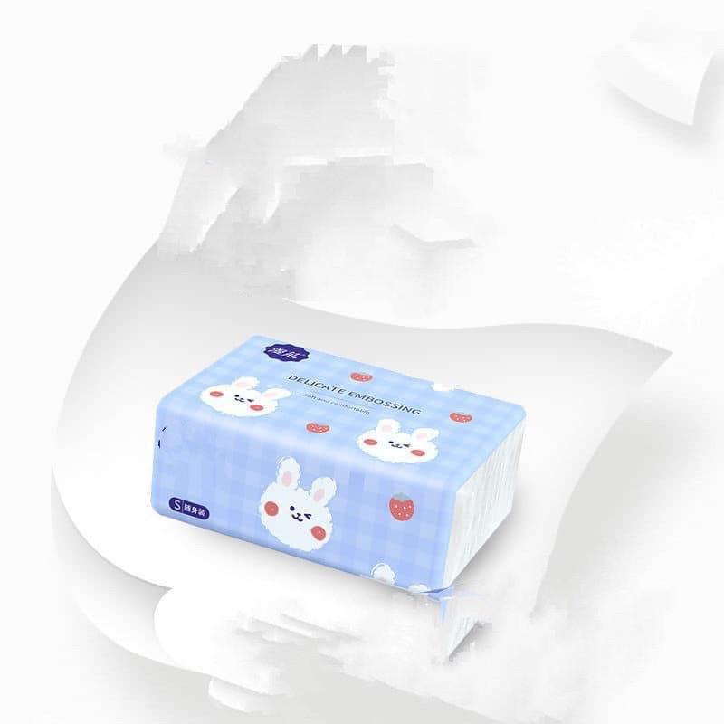 HÀNG CÓ SẴN GIẤY ĂN CON THỎ SIÊU DAI ( THÙNG 40 GÓI NỘI ĐỊA TRUNG ) - Khăn giấy  ăn Nhãn hiệu No Brand | VatDungNhaBep.com