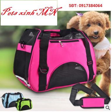 (Sẵn) Túi thể thao vận chuyển chó mèo du lịch