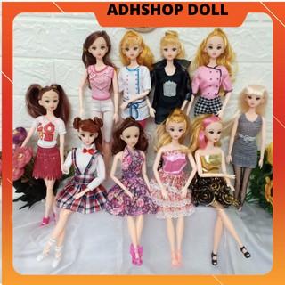 Búp Bê Barbie Cao 30cm Mắt Vẽ Diện đồ Xinh adhshop