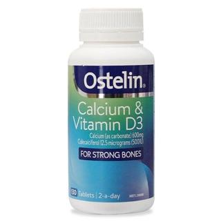 Viên uống bổ sung Ostelin Vitamin D Calcium của Úc