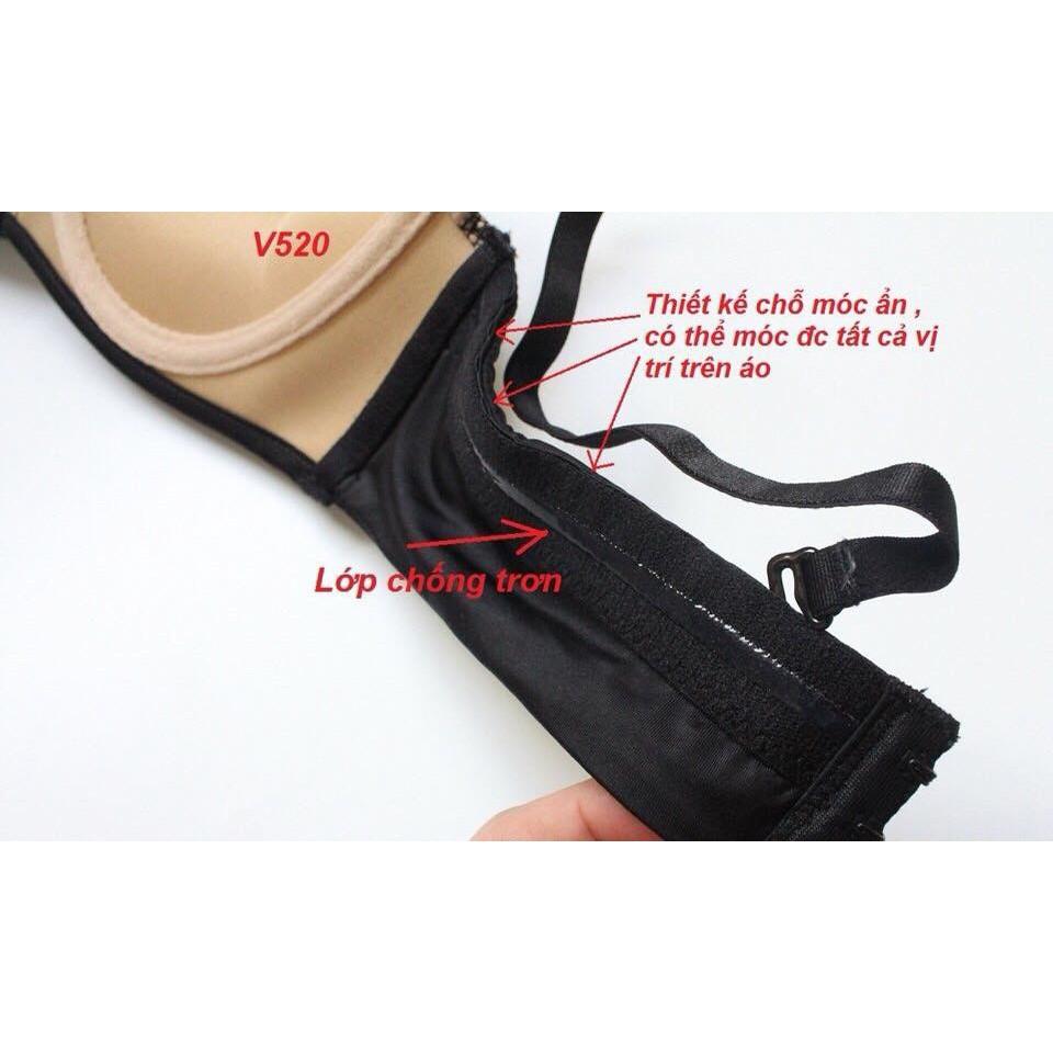 Bộ đồ lót Vicky cup ngang siêu đẩy - B | SaleOff247