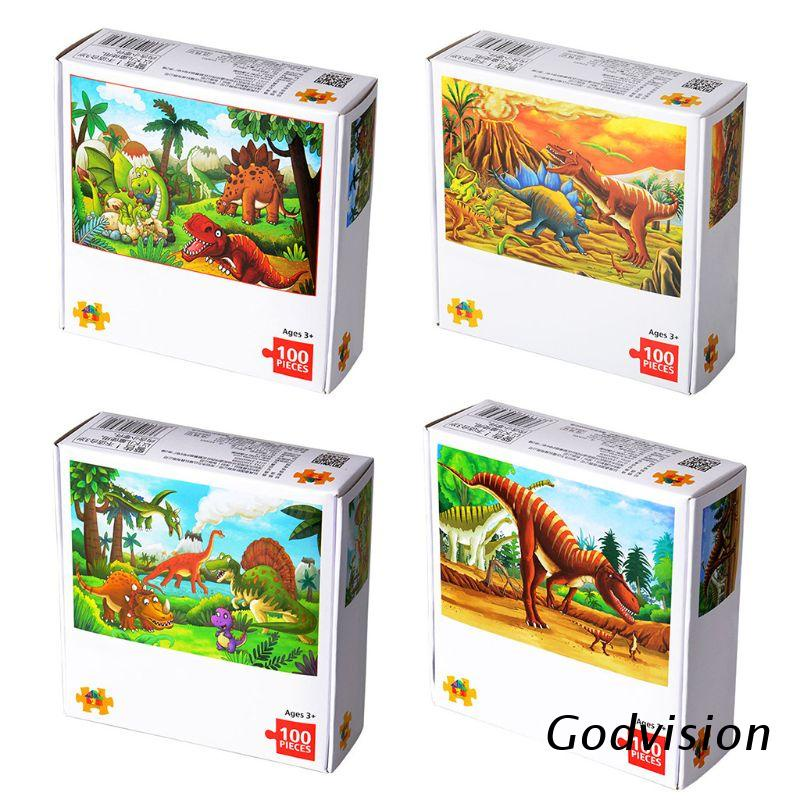 BB 100 Pcs Jigsaw Puzzle for Kids Learning Educational Puzzles Toys for Toddler Boys and Girls