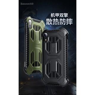 Ốp lưng thể thao chống sốc tản nhiệt Cold front cooling XR/ Xs Max hãng Baseus