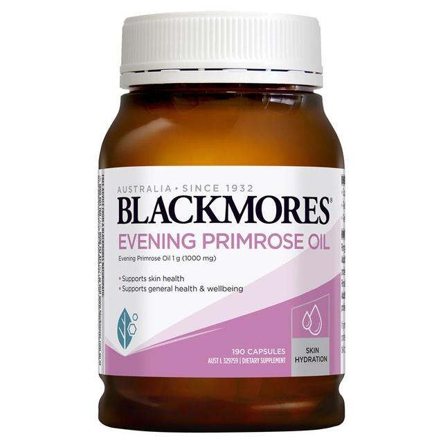 [Mã COS1111 giảm 8% đơn 250K] Tinh dầu hoa anh thảo Evening Primrose Oil Blackmores, lọ 190 viên