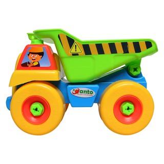 Đồ chơi lắp ráp xe tải, đồ chơi hướng nghiệp bé tập làm đội kỹ sư tài ba (Xe tải)