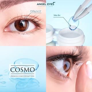 Lens trong suốt cận Angel Eyes cho mắt nhạy cảm có độ cận từ 0 đến 15 độ