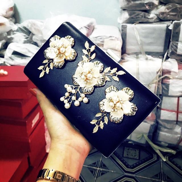 Giỏ Xach Culth hoa