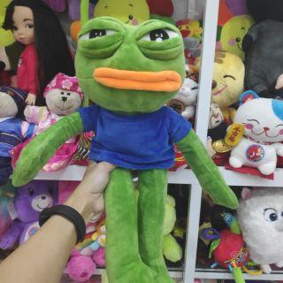 Ếch xanh pepe frog ngộ nghĩnh có khớp kẽm