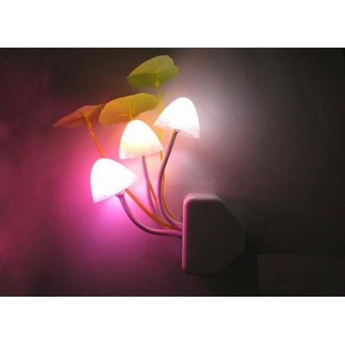 [ XẢ KHO 3 NGÀY] Đèn Ngủ Nấm Avata Cắm Tường, đèn ngủ cảm ứng cắm tường, đèn ngủ cảm ứng ánh sáng, đèn ngủ giá