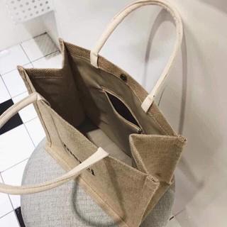 Túi xách cói Merci phong cách Vintage siêu hót  (RẺ NHẤT SHOPEE)