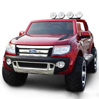 Ô tô xe điện trẻ em địa hình FORD RANGER XLS 2 chỗ 4 động cơ ghế da cao cấp ( Đỏ-Đen-Trắng-Xanh)