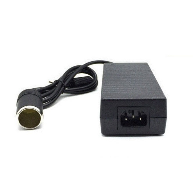 Adapter đổi nguồn điện cao cấp 220V- 12V 120W 10A đầu cắm ô tô, bộ đổi nguồn 220V sang 12V chân tẩu - Better Car