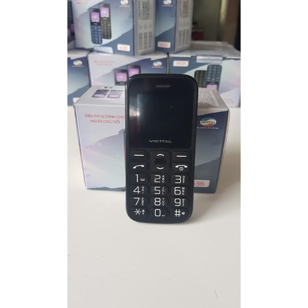 Điện thoại VIETTEL V6316 đện thoại dành cho người già,loa to pin khỏe