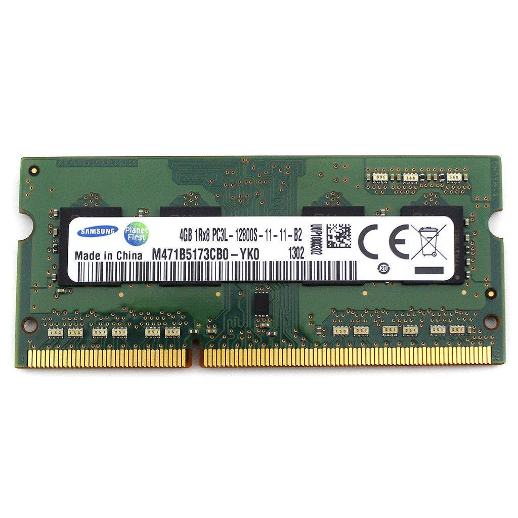 Ram laptop 4GB DDR3L bus 1600