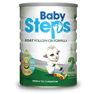 Sữa dê công thức Baby Steps Số 2 Goat Follow-On Formula 900gr thumbnail