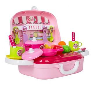 Hộp bếp nấu ăn hình ô tô Toys House 008-91