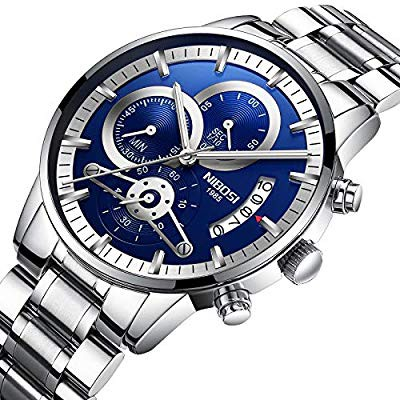 [Tặng vòng tay]Đồng hồ nam NIBOSI chính hãng NI2309-1.03F tặng dụng cụ tháo chốt