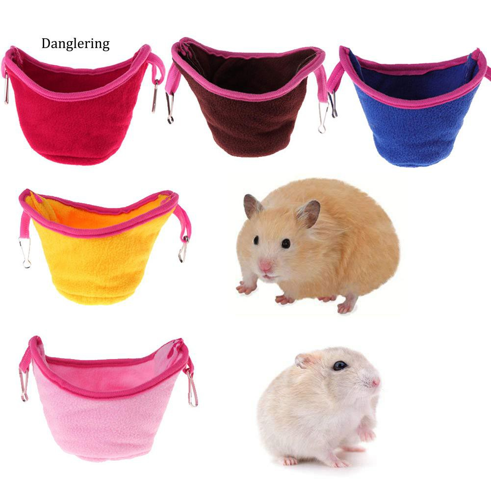 【DGLG】Parrot Bird Hamster Hanging Hammock Nest Cage Squirrel Sleeping Bed Pet Supplies