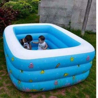 Bể bơi 180cm tặng 1 tuýp keo và 2 miếng vá bể dự phòng