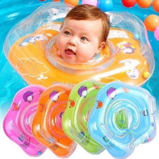 Phao cổ cho bé tập bơi