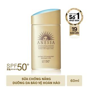 Hình ảnh [Mã COSMALL17 -10% ĐH 250K]Bộ đôi chống nắng bảo vệ hoàn hảo Anessa Perfect UV Sunscreen Skincare Milk-3