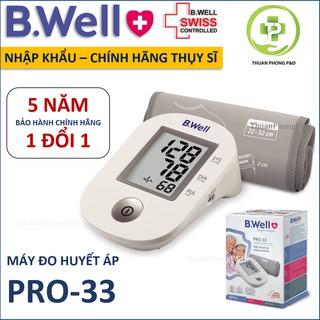 Máy đo huyết áp bắp tay B.Well Swiss PRO 33[NHẬP KHẨU] – [Chính Hãng Thụy Sĩ]